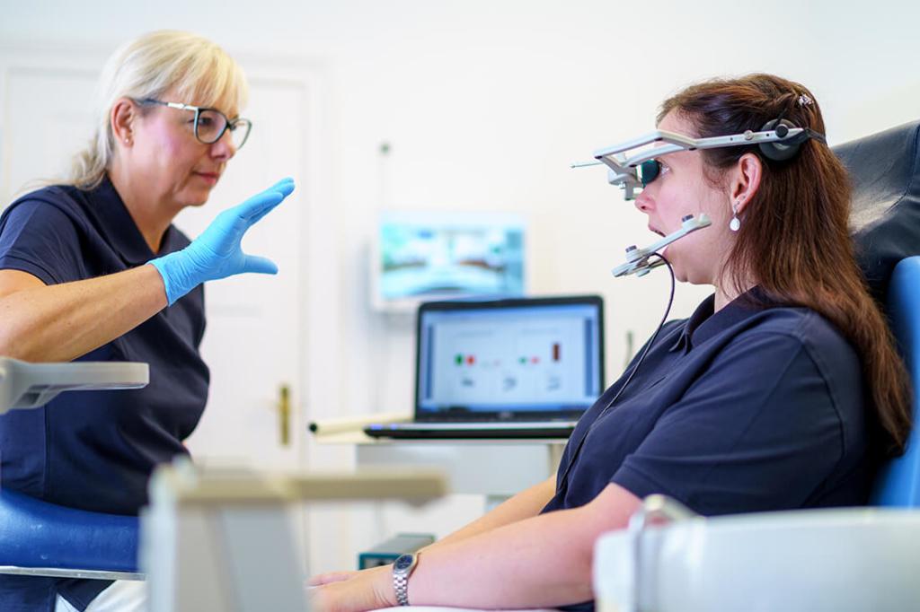 Zahnärztin Eisleben - Brockmann - Leistungen - Funktionsdiagnostik und -therapie